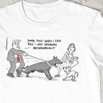 "Donald Trump ""Speaking Metaphorically"" T-Shirt"