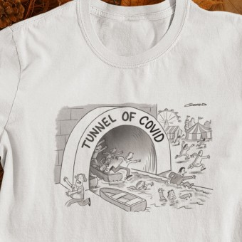 Tunnel Of Covid T-Shirt