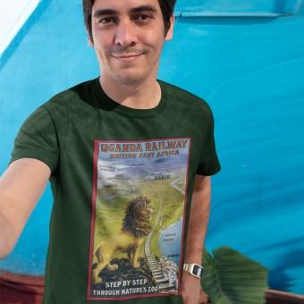 Uganda Railway Poster T-Shirt