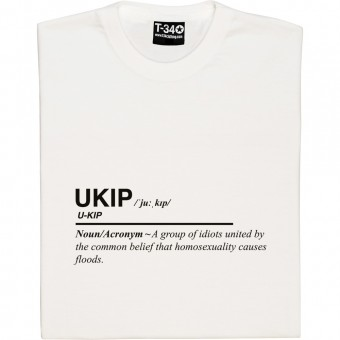 UKIP Definition T-Shirt