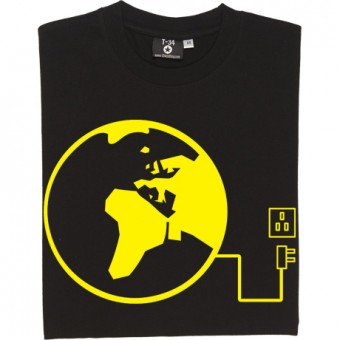 Unplug The World T-Shirt