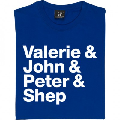 Valerie and John and Peter and Shep