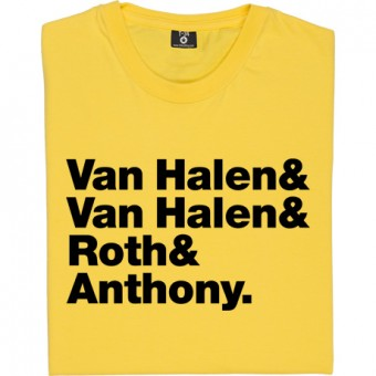 Van Halen Line-Up T-Shirt