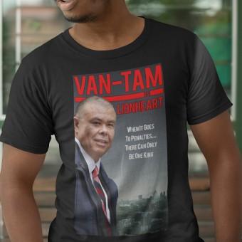 Van-Tam Lionheart Poster T-Shirt