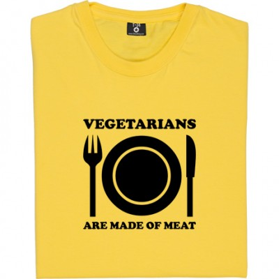Vegetarians Are Made Of Meat