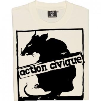 Vermine Fasciste (Large Print) T-Shirt