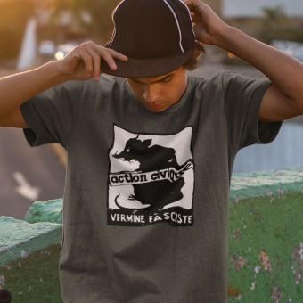 Vermine Fasciste (Small Print) T-Shirt