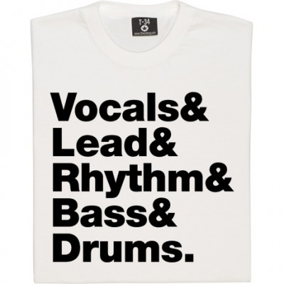 Vocals & Lead & Rhythm & Bass & Drums Line-Up
