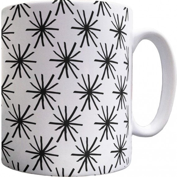 "Kurt Vonnegut ""Asshole"" Pattern Mug"