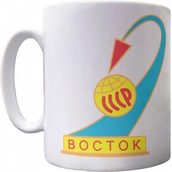 Vostok 1 Mission Insignia Ceramic Mug