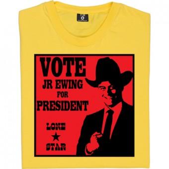 Vote JR Ewing For President T-Shirt