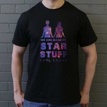 Carl Sagan: We Are Made Of Star Stuff T-Shirt