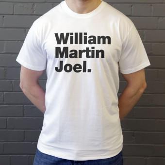 William Martin Joel T-Shirt
