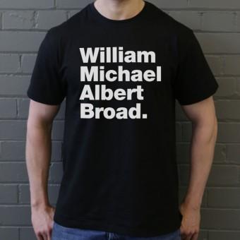 William Michael Albert Broad T-Shirt