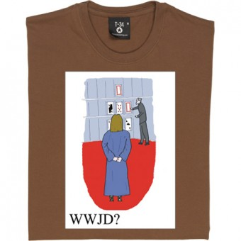 What Would Jesus Do: Play Your Cards Right T-Shirt