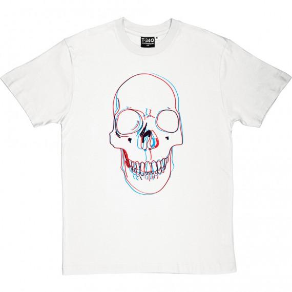 3-D Skull T-Shirt