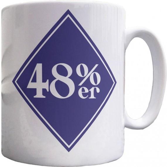 48%er Ceramic Mug