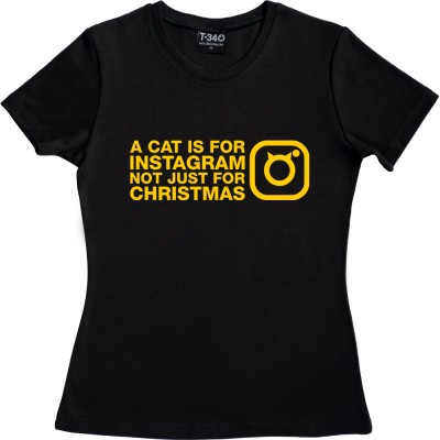 A Cat Is For Instagram, Not Just For Christmas