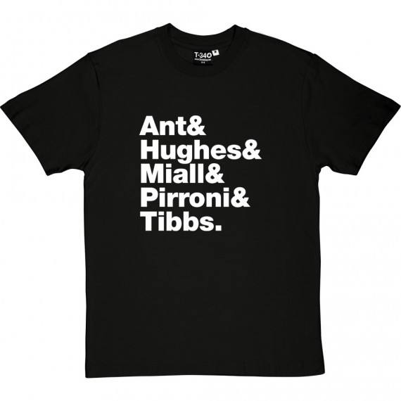 Adam and the Ants Line-Up T-Shirt