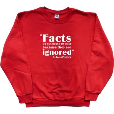 """Aldous Huxley """"Facts"""" Quote"""