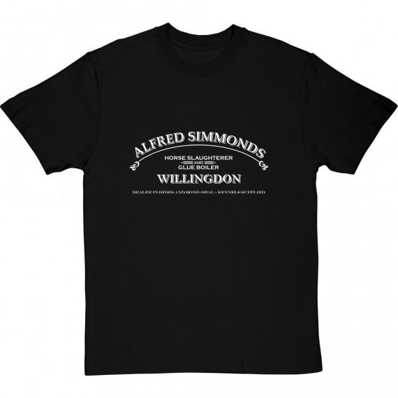 Alfred Simmonds: Horse Slaughterer & Glue Boiler T-Shirt