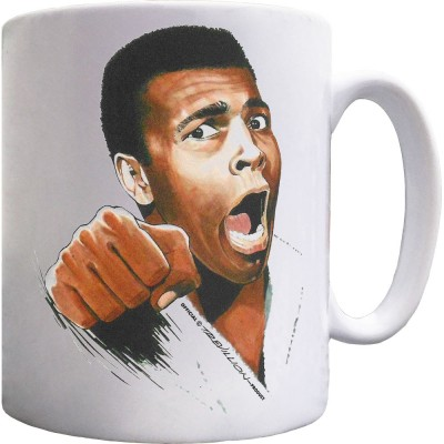 "Muhammad Ali ""I Am The Greatest"" Ceramic Mug"