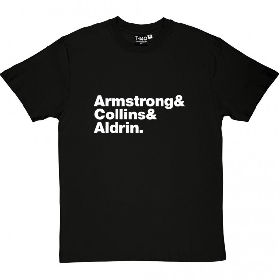 Apollo 11 Line-Up T-Shirt