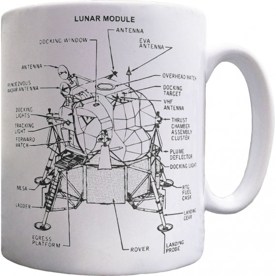 Apollo Lunar Module Ceramic Mug