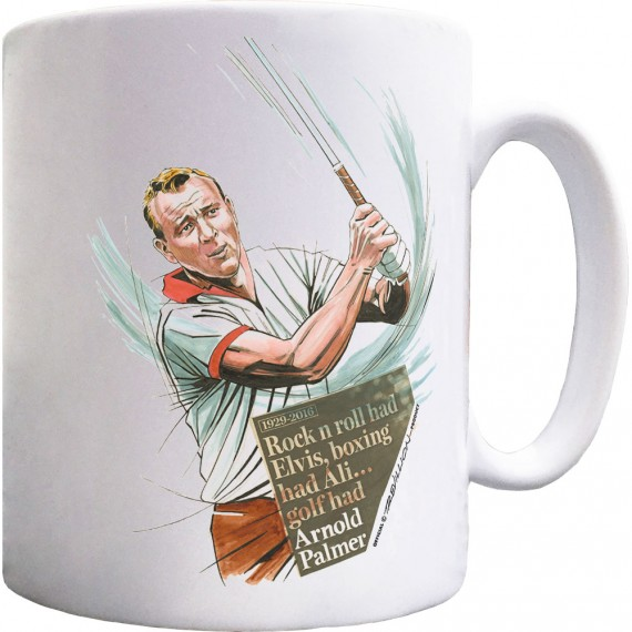 Arnold Palmer Rock 'n' Roll Ceramic Mug