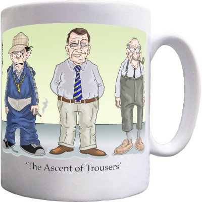 The Ascent of Trousers Mug