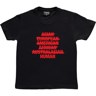Asian, European, American, African, Australasian, Human