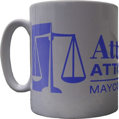 Atticus Finch: Attorney At Law Ceramic Mug
