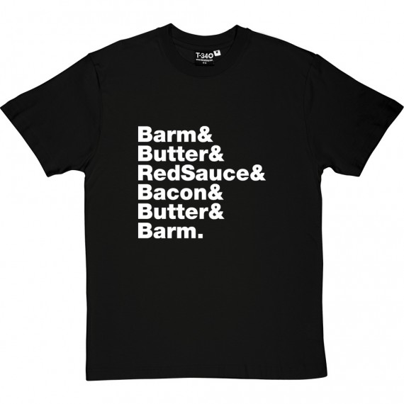 Bacon Barm Line-Up T-Shirt