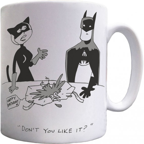 A Present From Catwoman Mug