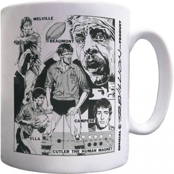 Bill Beaumont & England v Australia 1984 Ceramic Mug