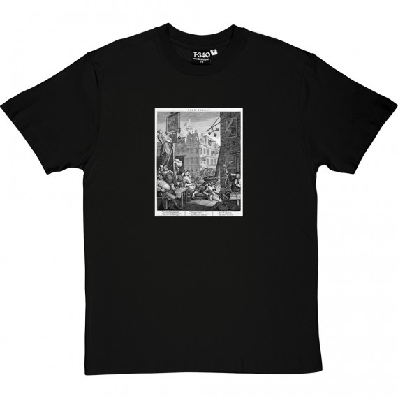 William Hogarth's Beer Street T-Shirt