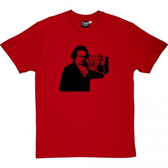 Beethoven Ghetto Blaster T-Shirt