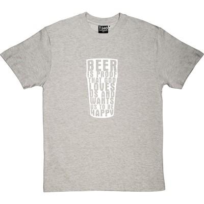"""Benjamin Franklin """"Beer"""" Quote"""
