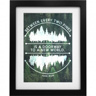 Between Every Two Pines Art Print