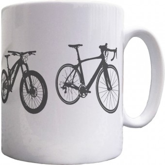 Lifetime of Bicycles Ceramic Mug