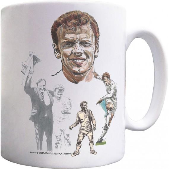 Billy Bremner Montage Ceramic Mug