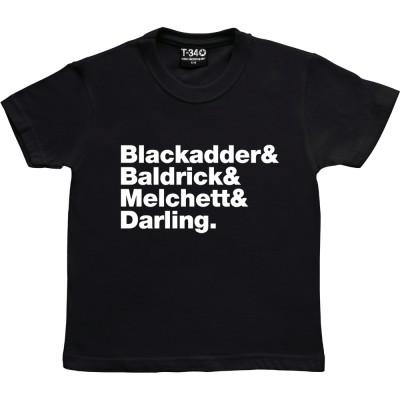 Blackadder Line-Up