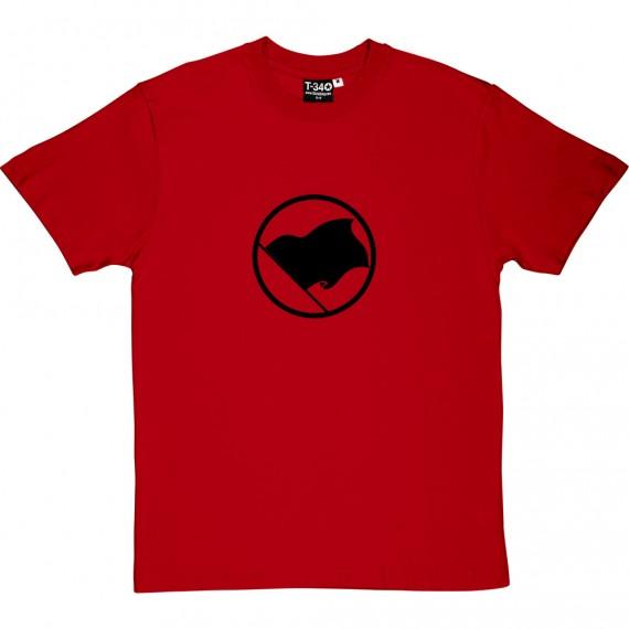 Black Anarchist Flag T-Shirt