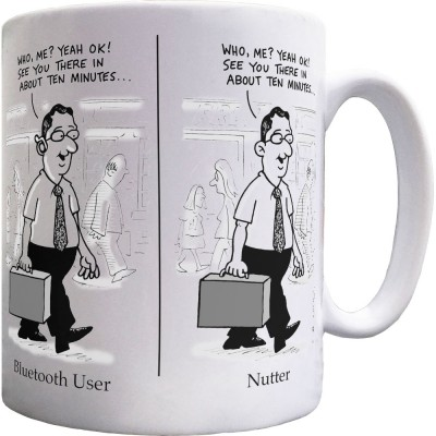 Bluetooth/Nutter Mug