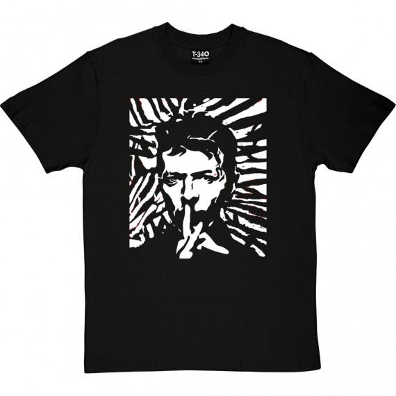 David Bowie Woodcut T-Shirt