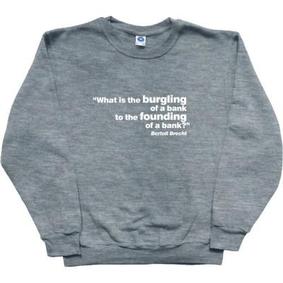 """Brecht """"Bank"""" Quote"""