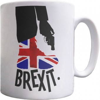 Brexit (Shooting Yourself In The Foot) Mug