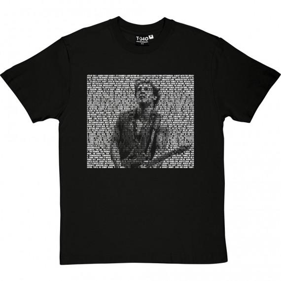 Bruce Springsteen Songs T-Shirt