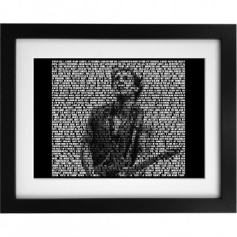 Bruce Springsteen Songs Art Print