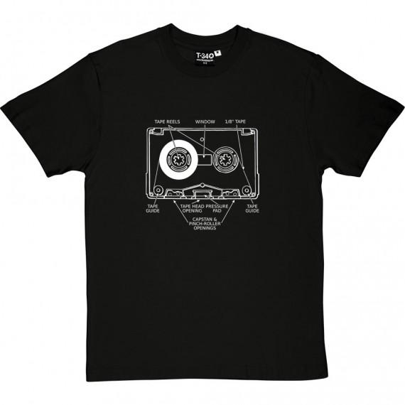 Cassette Tape Diagram T-Shirt